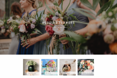 طراحی سایت Fay Flower