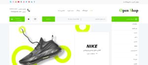 نمونه سایت فروشگاهی